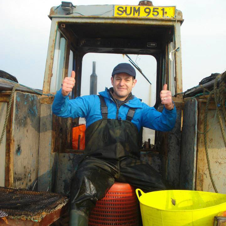 Matt Baker from Country File visits Southport Seafood
